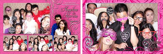 Angeline & Marvin Wedding - Calgary Photo Booth