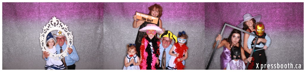 Adults and Kids Having Fun - Calgary Photo Booth