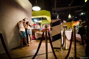 Open concept or open air photo booth in Calgary