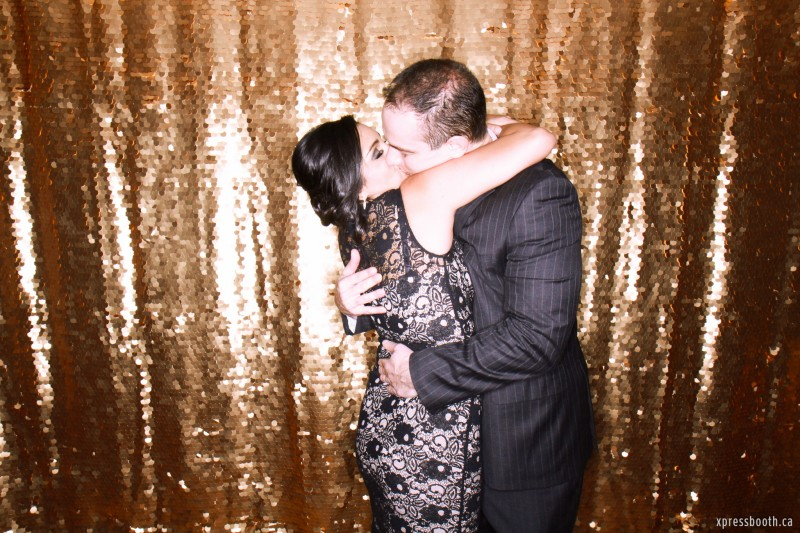 Most Passionate Kiss in Photo Booth Award