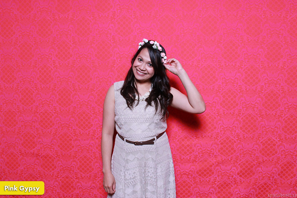 Photo Booth Backdrop Pink Gypsy
