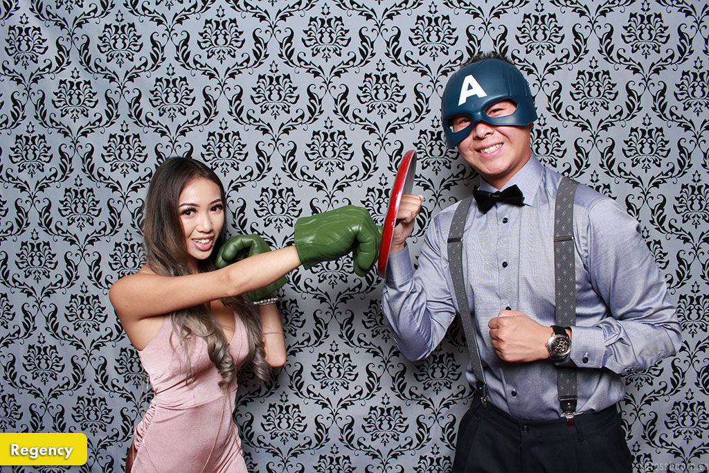 Photo Booth Backdrop Regency
