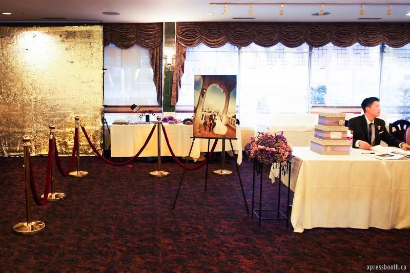 Elegant Photobooth Reception Area
