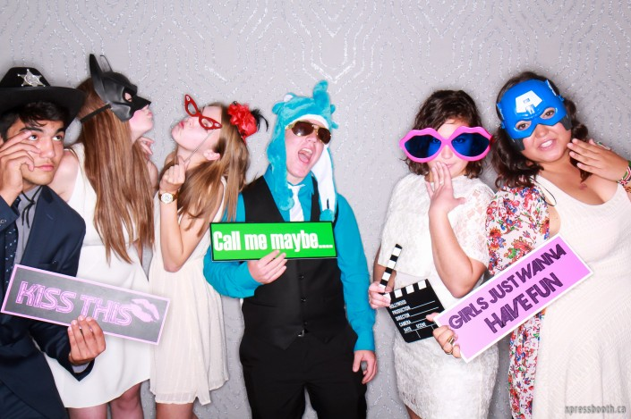 Teens in the Photo Booth
