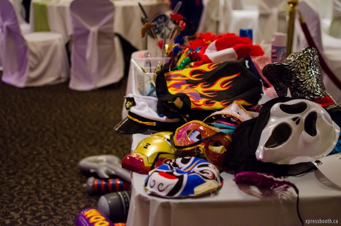 Hats and masks galore