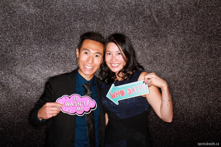 Photo booth signs who dat and it wasn't me! One of our past clients!