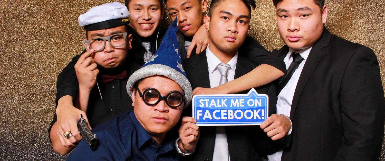 Stalk me on Facebook