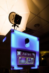 Photo Booth LED Lights front