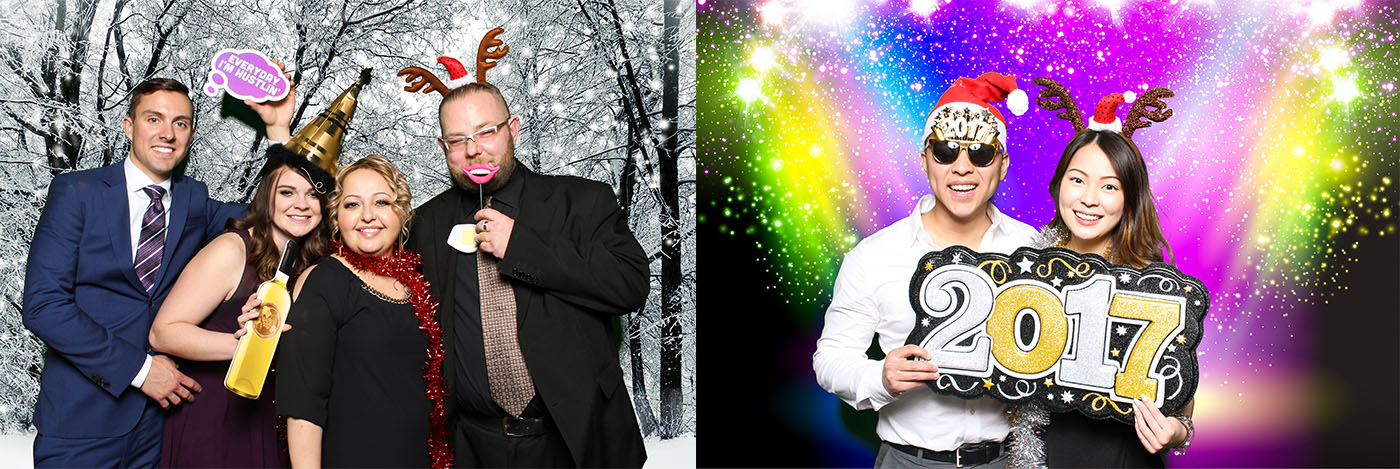 La-Z-Boy Christmas Party Photo Booth at the Gasoline Alley at Heritage Park, Calgary
