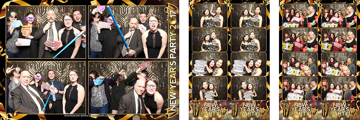 Richmond Road Coop New Year Party Photo Booth