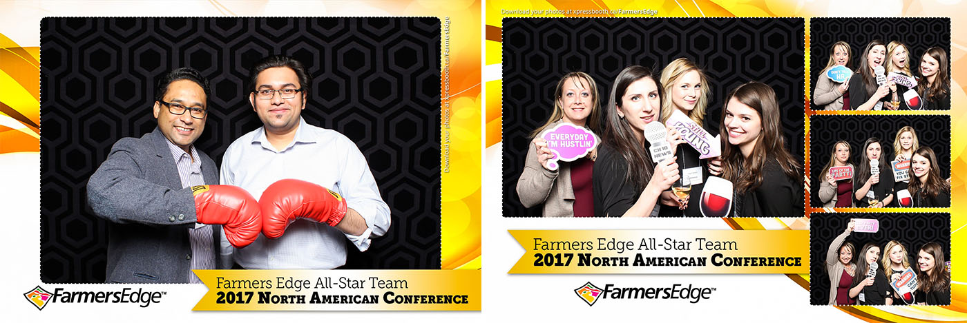 Farmers Edge 2017 Conference Corporate Photo Booth