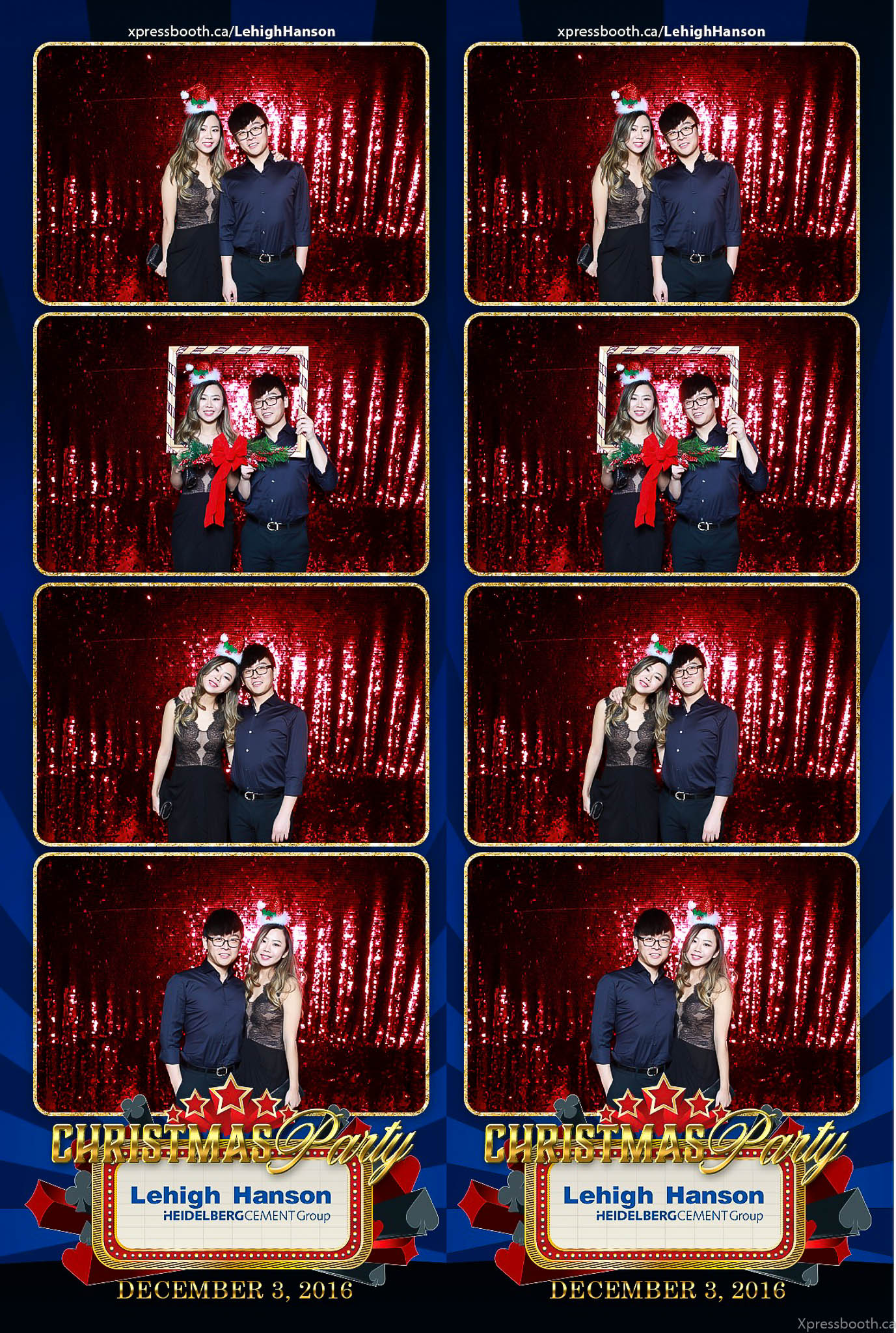 Lehigh Hanson Christmas Party - Xpressbooth Photo Booth Calgary