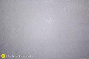 Silver Glitter & Gray Gatsby Photography Backdrop