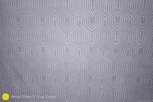 White Glitter & Gray Gatsby Photography Backdrop
