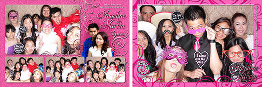 Angeline & Marvin Wedding - Calgary Photo Booth