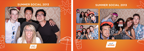 Wind Mobile Summer Social 2013 - Calgary Photo Booth