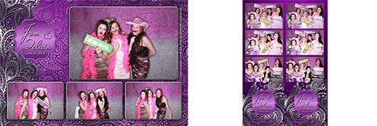 Jon & Felicia Wedding - Calgary Photo Booth