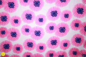 Flower Power (Pink, Purple & White) Photography Backdrop