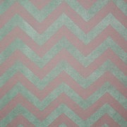 Chevron Gray and Mint Backdrop