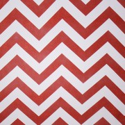 Chevron White and Cooper Backdrop