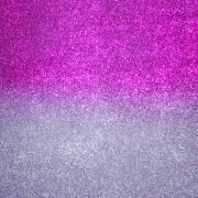 Ombre Purple and Silver Glitter Backdrop