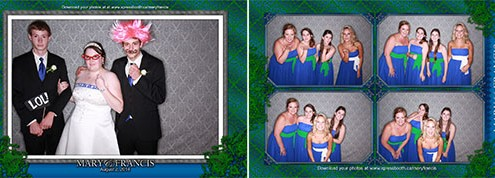Mary & Francis - High River, AB - Calgary Photo Booth
