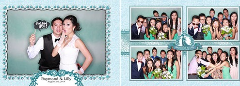 Raymond and Lilly Wedding - Chinese Cultural Centre, Calgary, AB Photo Booth