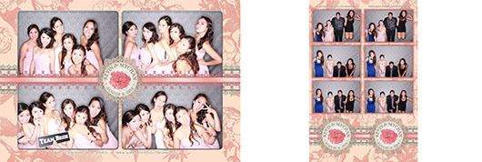 Kevin Mychan Wedding in Regency Palace. Photo Booth Calgary