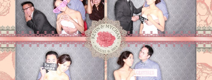 Pink and Blush Wedding Photo Booth Calgary