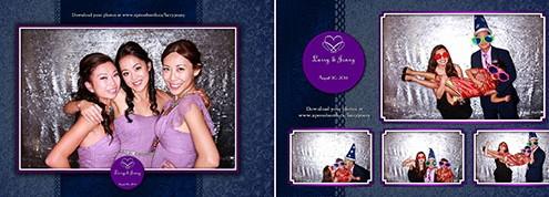 Larry & Jenny Wedding Photo Booth - Regency Palace, Calgary