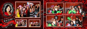 Photo booth images from Madeline's 50th Birthday at Killarney Glengarry Community Hall Calgary