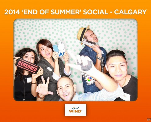 Wind Mobile End of Summer Social 2014 - Photo Booth Highlights