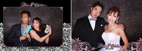 Chealsea & Boon Wedding Photo Booth - Teatro Calgary
