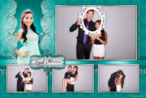 18th Birthday Debut Photo Booth Layout