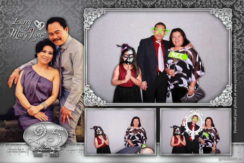 Double Celebration With 2 Photo Booth Layouts Xpressbooth Photo