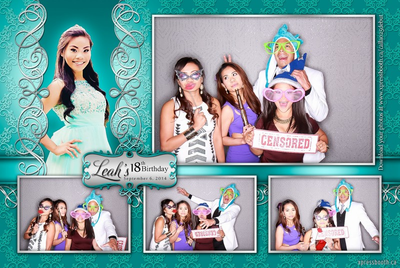 Double Celebration with 2 Photo Booth Layouts ...