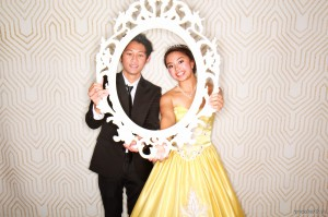 Debutante with her escort