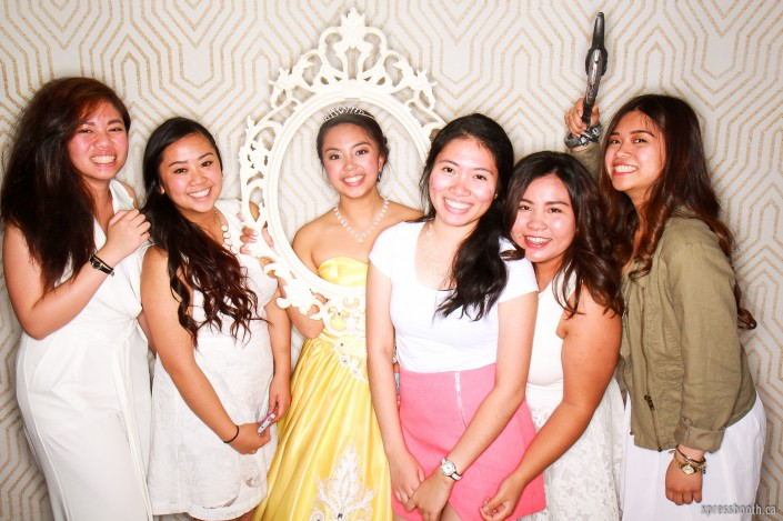 Celebrant and her friends