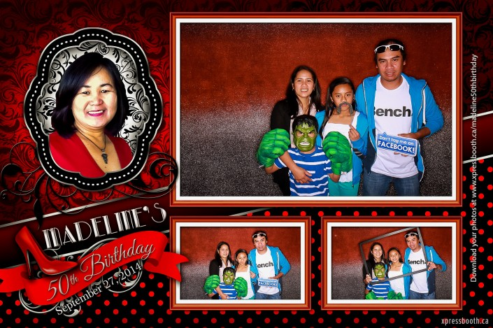 3-shot photo booth layout