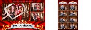 Lorna's 40th Birthday Photo Booth Pictures - Fairmont Palliser, Calgary