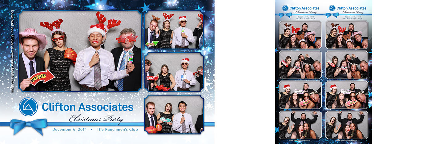 Clifton Associates Christmas Party at the Ranchmen's Club in Calgary, AB
