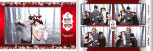Photo booth at Club Fed's Christmas Party at the Polish Canadian Cultural Centre