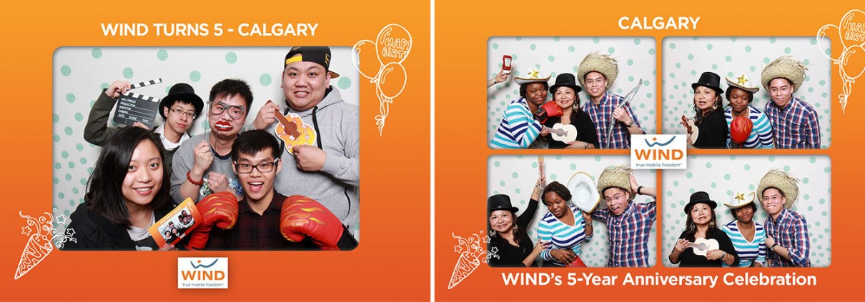 Wind Turns 5 Photo Booth