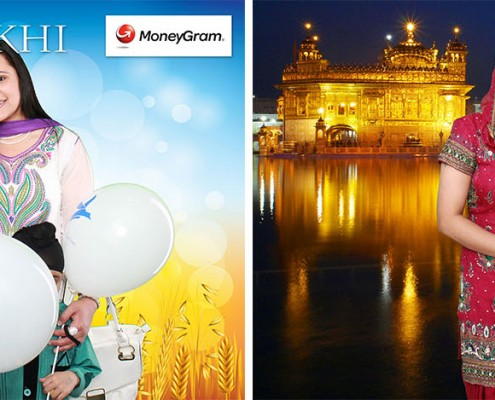 MoneyGram Photo Booth at the Vaisakhi Mela Festival