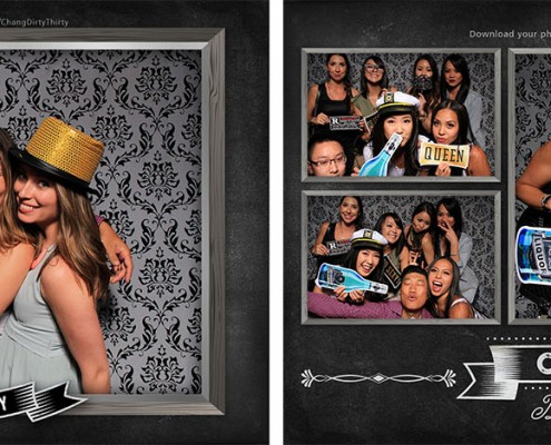 Chang's 30th Birthday Party Photo Booth