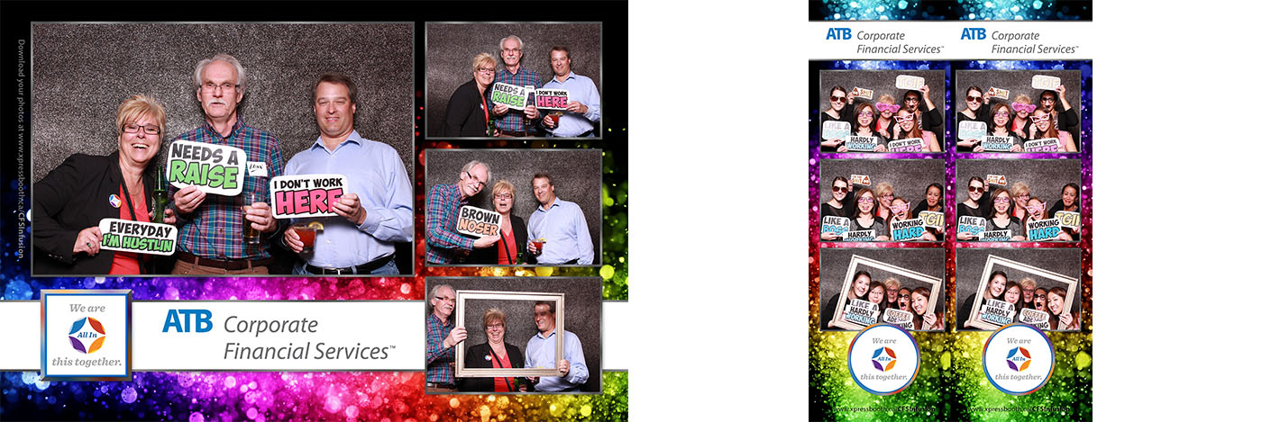ATB CFS Infusion Photo Booth for Corporate Events