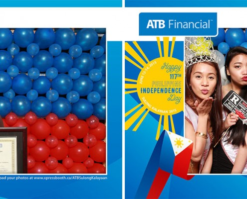 ATB Financial Sulong Kalayaan 2015 - Day 1 Photo Booth