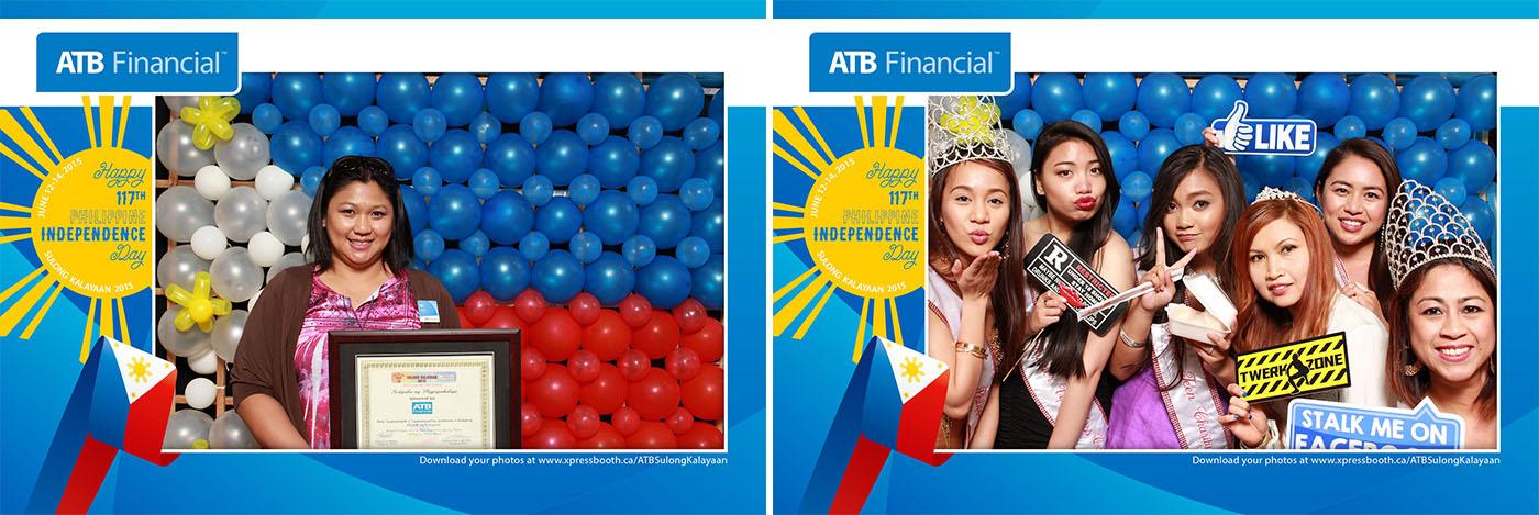 ATB Financial Sulong Kalayaan 2015 - Day 1 Photo Booth