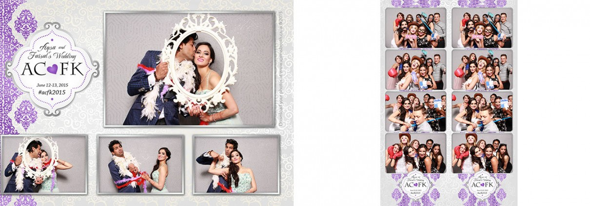 Photo booth pictures from Aqsa & Faisal's Wedding at the Best Western Village Park Inn