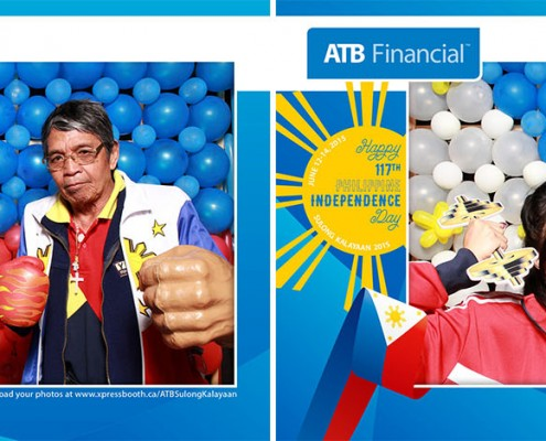 ATB Financial Sulong Kalayaan 2015 - Day 2 Photo Booth